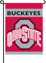 com ncaa ohio state buckeyes 2 sided garden flag sports fan outdoor flags sports outdoors