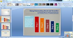 how to make a good powerpoint diagram on target market identification