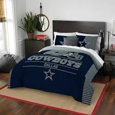 Dallas Cowboys Draft Full/Queen Comforter Set by Northwest