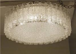 image of flush mount chandelier ceiling lights