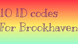 Our blog site provides the newest article about all code id roblox brockhavenrp which include other things relevant to it. Code Id For Roblox Brookhaven Cute766