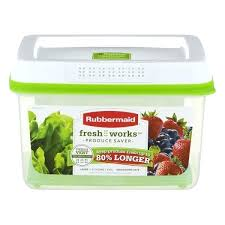 fresh works rubbermaid produce saver large freshworks countertop containers