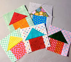 257 best Houses Quilt Themes images on Pinterest | DIY, Children ... & QM Bitty Blocks: Home Sweet Home. Free pattern on Quilty Pleasures. Make  Bitty Blocks all year and have a row quilt when you're done! Adamdwight.com