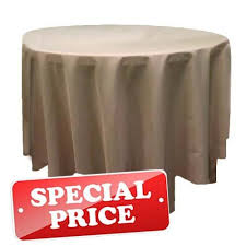 90 round tablecloth poly premier cafe only special