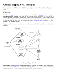 This sample can be used by the experienced engineers use uml diagrams to denote relationships between classes and their instances. An Example Of Activity Diagram For Online Shopping
