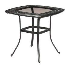 black metal outdoor furniture. Metal Bistro Table Patio Furniture Outdoor Tables The Set Black