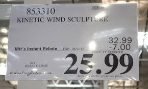 kinetic wind sculpture costco