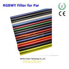 winsune colorful gel filter for par lighting