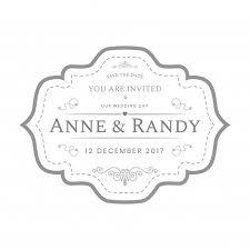 Wedding Label Templates Vintage Wedding Labels Template In White Color Vector Premium Download