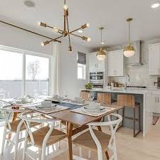 modular dining room furniture. Mid Century Modern Dining Table With White Wishbone Chairs Modular Room Furniture