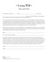 Last Will And Testement Form Examples Of Living Wills Last Will And Testament Form Microsoft Word 23