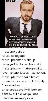 washing makeup brushes meme mugeek vidalondon