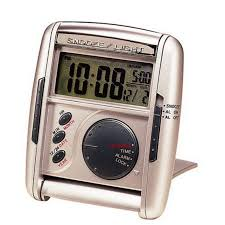 best travel alarm clock seiko silver get up glow travel alarm clock