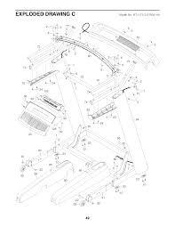 Wiring diagram nordictrack mercial treadmill parts ntl171133