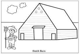 Barn Coloring Sheet Barn Coloring Pages Owl Sheet Barnyard Printable