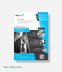 Brochure Mailer Flyer Vorlage Kostenlos Neu Flyer Announcement Template New Brochure