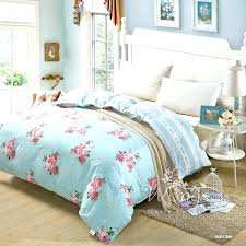 light blue comforter set baby blue comforters sky blue flower new contracted cotton bedding sets comfortable