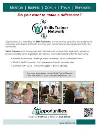 Opportunities Inc Wi Manufacturing Services Training And