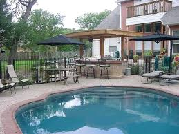 Backyard Designs With Pool And Outdoor Kitchen Backyard Designs - Outdoor kitchen designs with pool