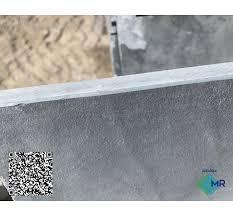 Soleira de ardósia polida tipo exportação com espessura de 2,00 cm nas medidas de 92x15cm. Soleira De Ardosia Cinza Natural Mr