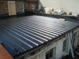 flat metal roofing flat metal roof amazing corrugated metal roofing