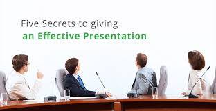 Secrets To Giving An Effective Presentation Collaboration Blog By