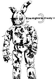 Fabulous Five Nights At Freddys Kleurplaat Vcw43 Agneswamu