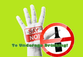 Stop Home - Drinking Underage