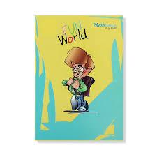 exercise book fun world pp cover
