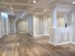 ... Shining Laminate Flooring Basement Collection In ...