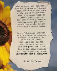 View latest posts and stories by @brauliobessa bráulio bessa in instagram. Setembro Amarelo Braulio Bessa
