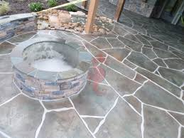 Decorative Concrete Overlay Concrete Fireplaces Bbq Grills Fire Pits Greenville Sc