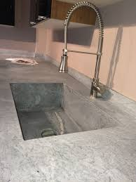 Soapstone Countertop With Integrated Sink Soapstone Countertops