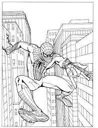 Spiderman appears for the first time in a 1962 comic book. Spider Man Color Page Timeless Miracle Com
