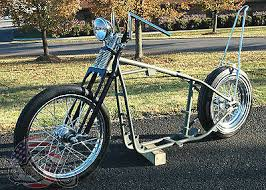 a grinder harley ironhead sportster rolling chassis paughco