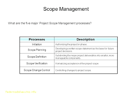 Project Scope Statement Template Ideal Introduction To Management Of ...