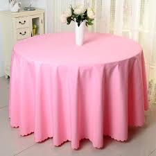 pink table linen champagne polyester visa round table cloths banquet table covers wedding hotel table linens pink table