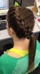Braided Hairstyles For Sports
