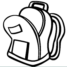 Small Picture backpack free coloring pages Clipart Panda Free Clipart Images