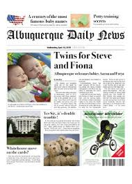 Amazon Com Birth Announcement Twins Fake Front Page Health