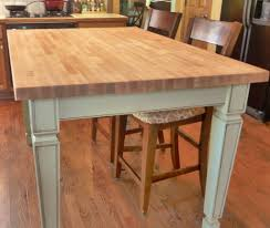 Butchers Block Kitchen Table Kitchen With Bench Tags Butcher Block Kitchen Table Natural