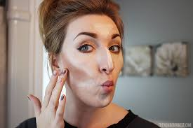 how to highlight and contour makeup tutorial