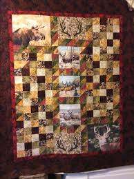 17 Best images about Hunting quilts on Pinterest | A deer, Deer ... & A hunting quilt for my brother's insulated tree stand (read man cave). Adamdwight.com