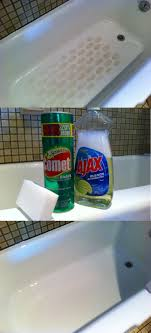 Comet + Ajax + Magic Eraser for perfectly clean tubs | Clever ...