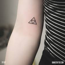 Triple Triangle By Boy Bunker Tattoo Quality Tattoos