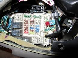 chrysler sebring questions where is the fuse box located for a 2 answers