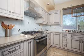 kitchen remodelng phoenix with inset cabinets and quartz countertops
