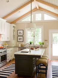 Kitchen With Vaulted Ceilings Kitchen Interior Design With Vaulted Ceiling House Interior