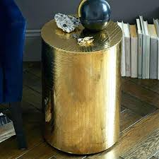 drum side table drum table brass antique coffee gold drum side table australia