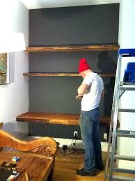 hanging shelf desk um image for modern floating shelves and desk in dumbo desk pictures floating